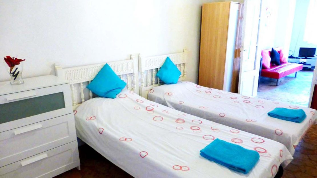 Another double bedroom within Palma Old Town Apartment
