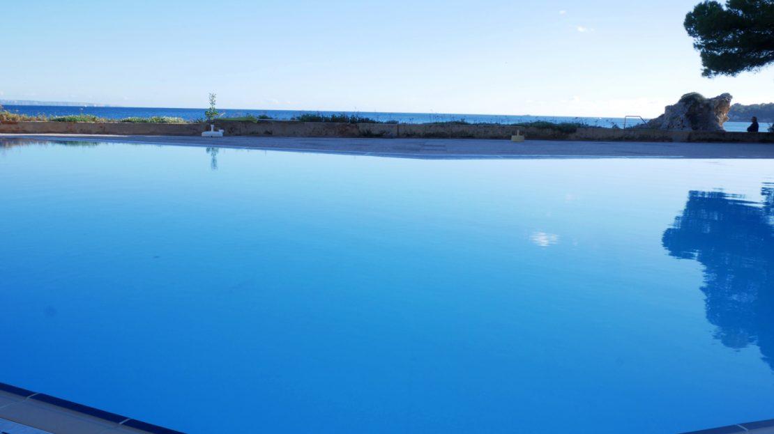 Pool at Villamar apartment