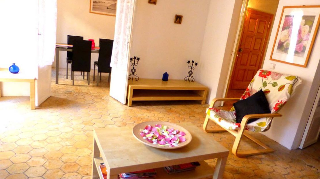 Lounge of Palma Old Town apartment