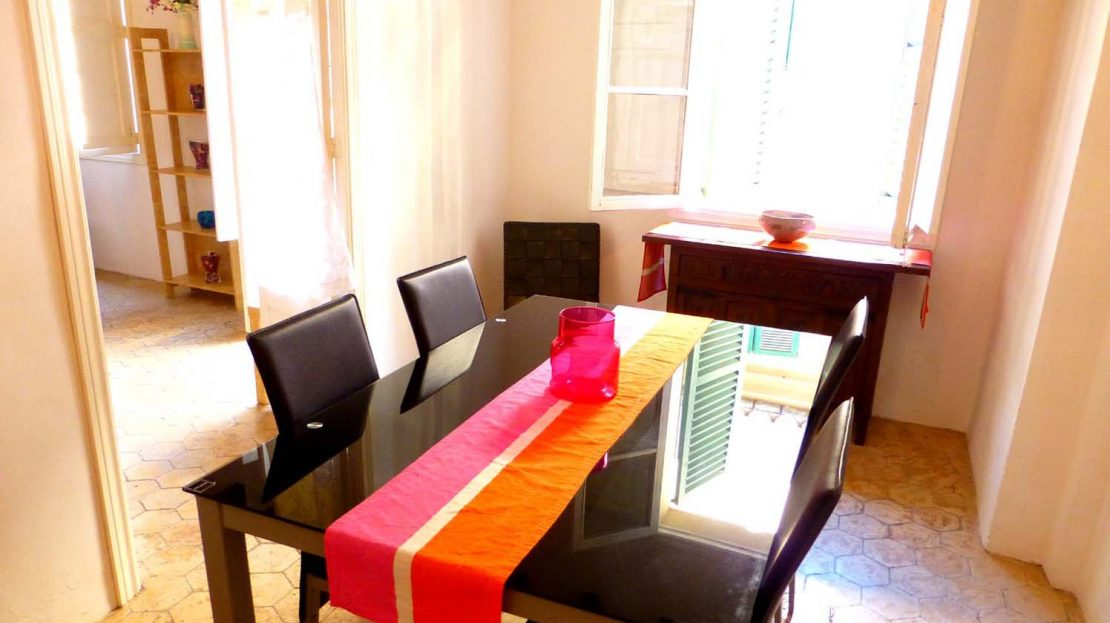 Dining Room of Palma Old Town Apartment