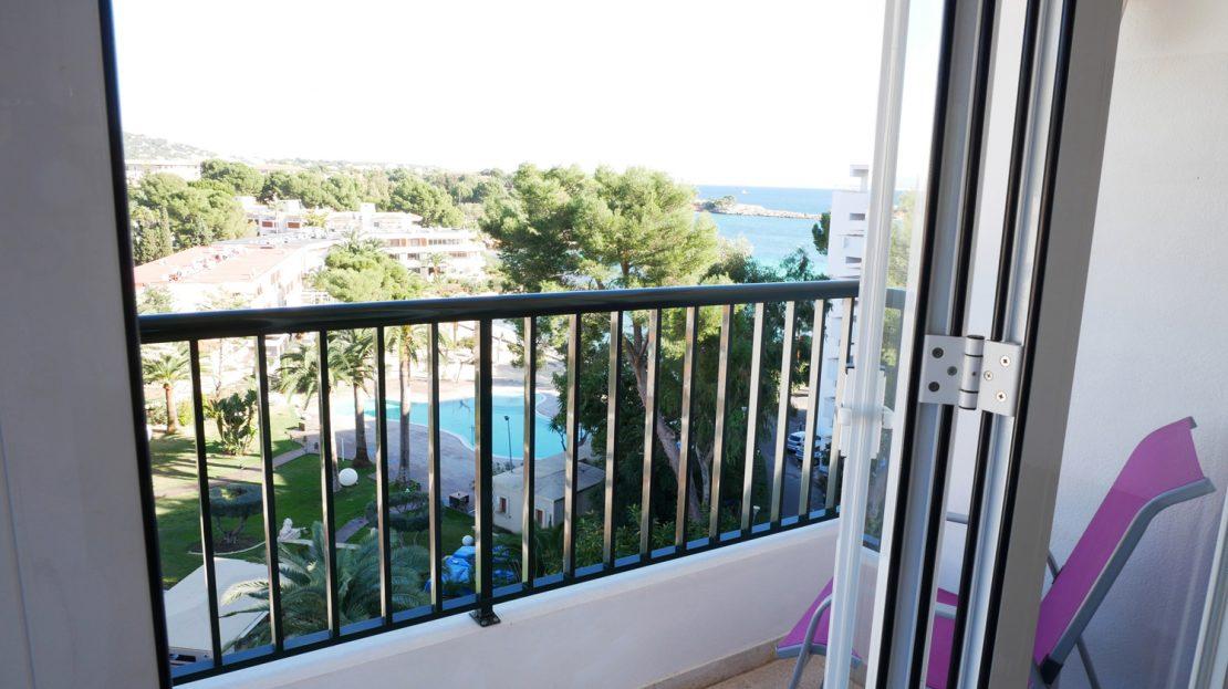Balcony of apartment
